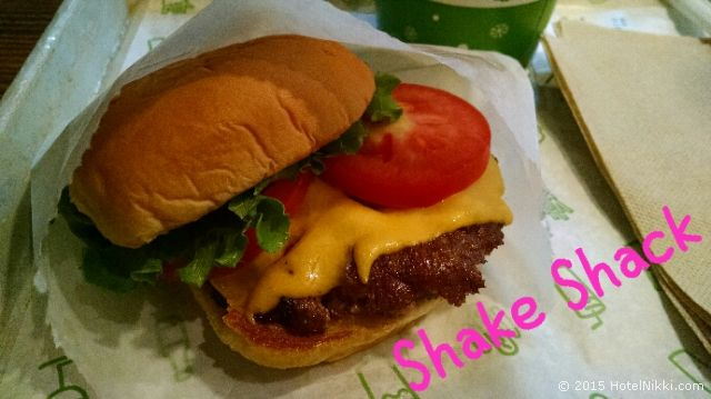 シェイクシャック、ShakeBurger シングルサイズ