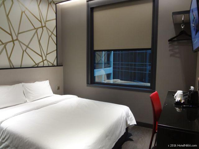 ホテルボス シンガポール、スーペリアダブルルーム客室