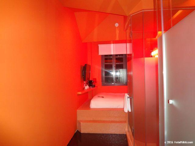 ワンダーラスト シンガポール、お部屋に入るとこんな感じです