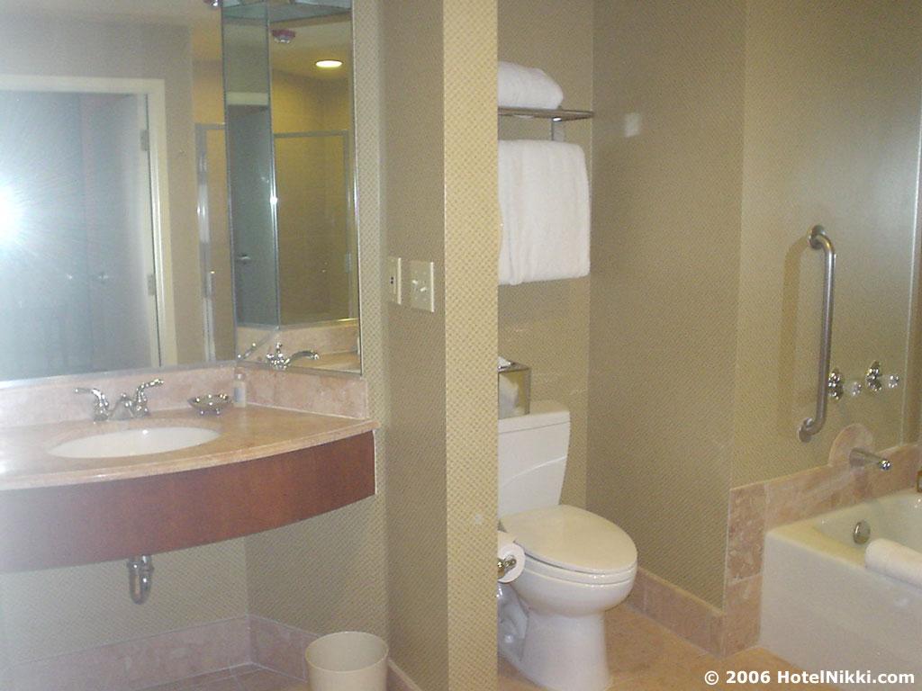 パークハイアットロサンゼルス バスルーム