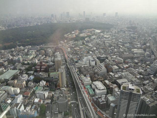 パークハイアット東京 素晴らしい景色