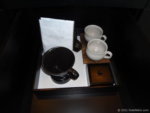 パークハイアット東京 お茶セット