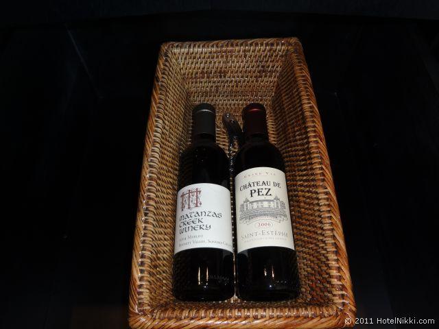 パークハイアット東京 ワイン