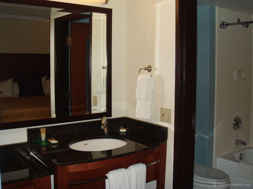 ハイアットプレイスラスベガス バスルーム