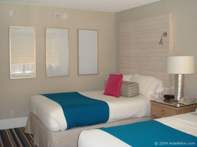 シェラトン フィッシャーマンズワーフ ホテル、ツインスタンダードルーム客室別の角度から