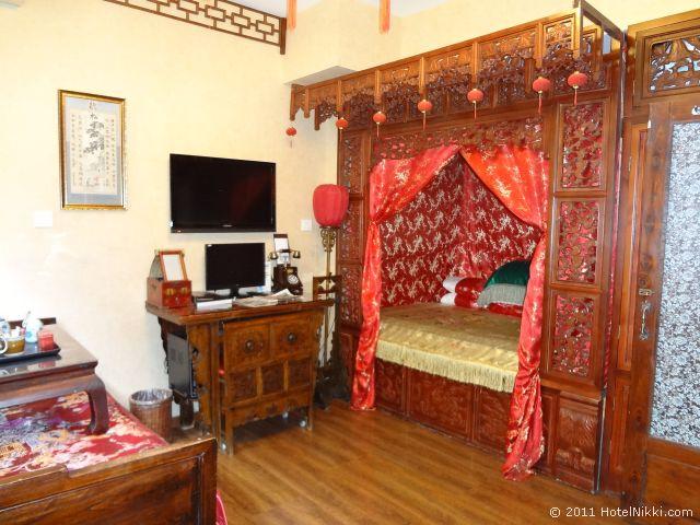 北京 ダブル ハピネス ホテル、中国風シングルルーム