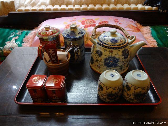 北京 ダブル ハピネス ホテル、小物まで雰囲気たっぷり