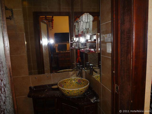 北京 ダブル ハピネス ホテル、バスルーム