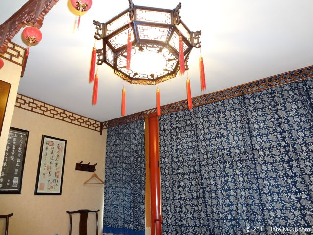 北京 ダブル ハピネス ホテル、中国風のライト