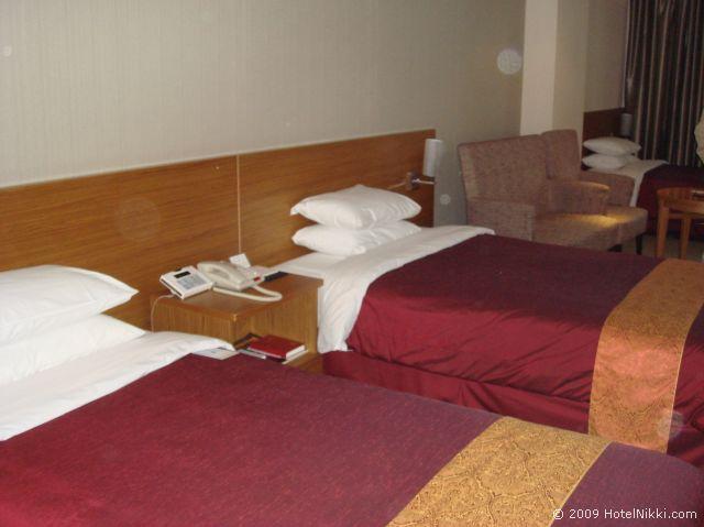 PJホテル ソウル ベッド