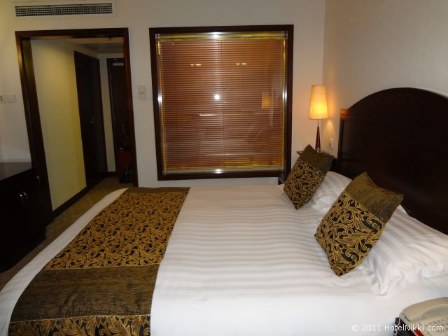 ハワード ジョンソン パラゴン ホテル 北京、デラックスルーム別の角度から