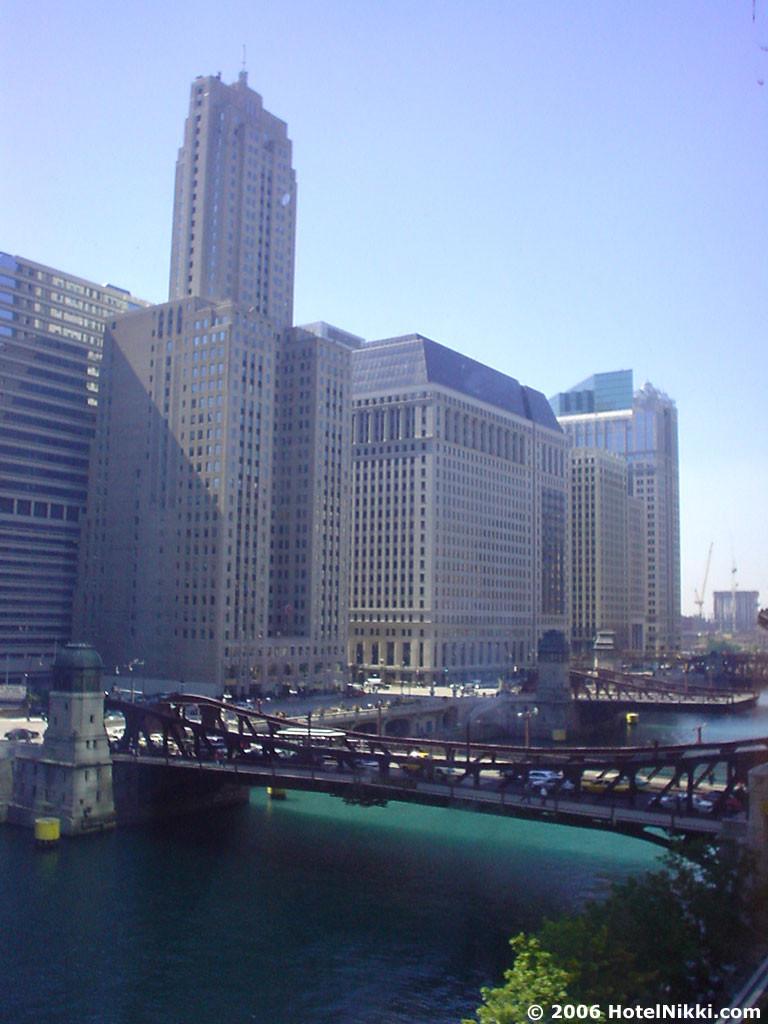 ウェスティンシカゴリバーノース 部屋からの景色
