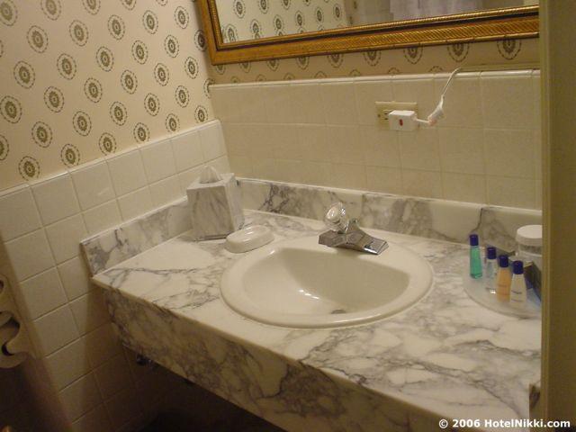 ザ・パルマーハウスヒルトンシカゴ バスルーム