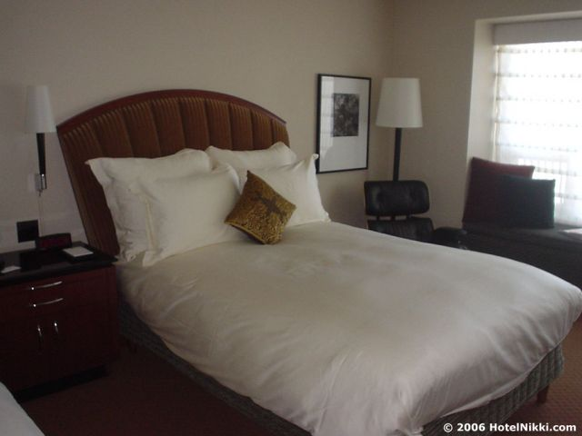 パークハイアットシカゴ ベッド