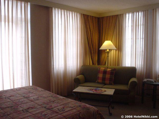 ハイアットリージェンシーコーラルゲイブルズ ゆったりな客室
