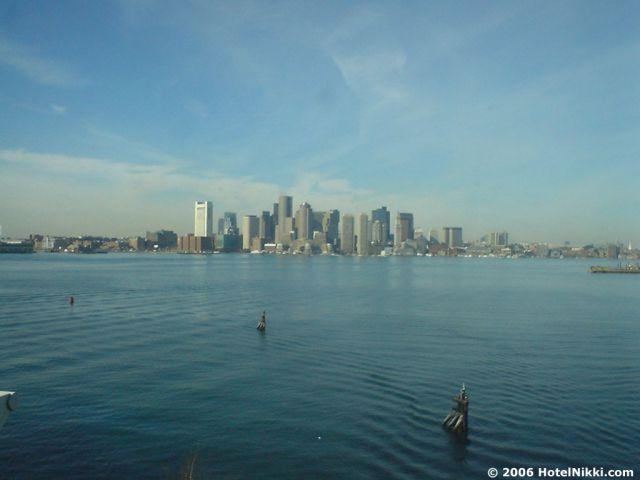 ハイアットハーバーサイドボストンローガン国際空港 きれいな景色