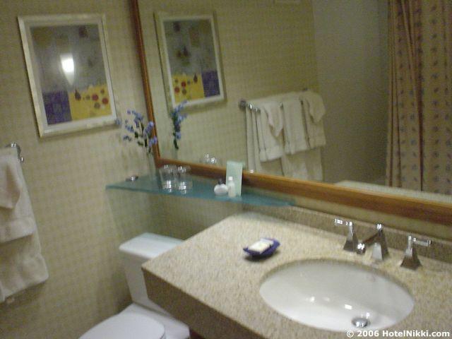 クラウンプラザサンフランシスコ国際空港 バスルーム