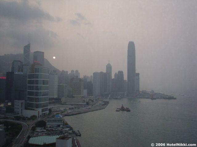 グランドハイアット香港 最高の景色