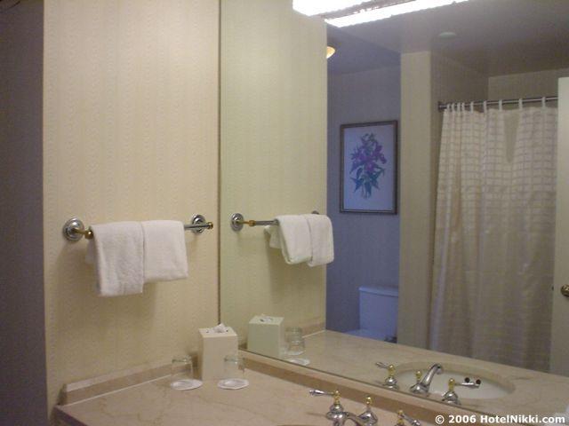 ハイアットリージェンシーボストンファイナンシャルディストリクト バスルーム