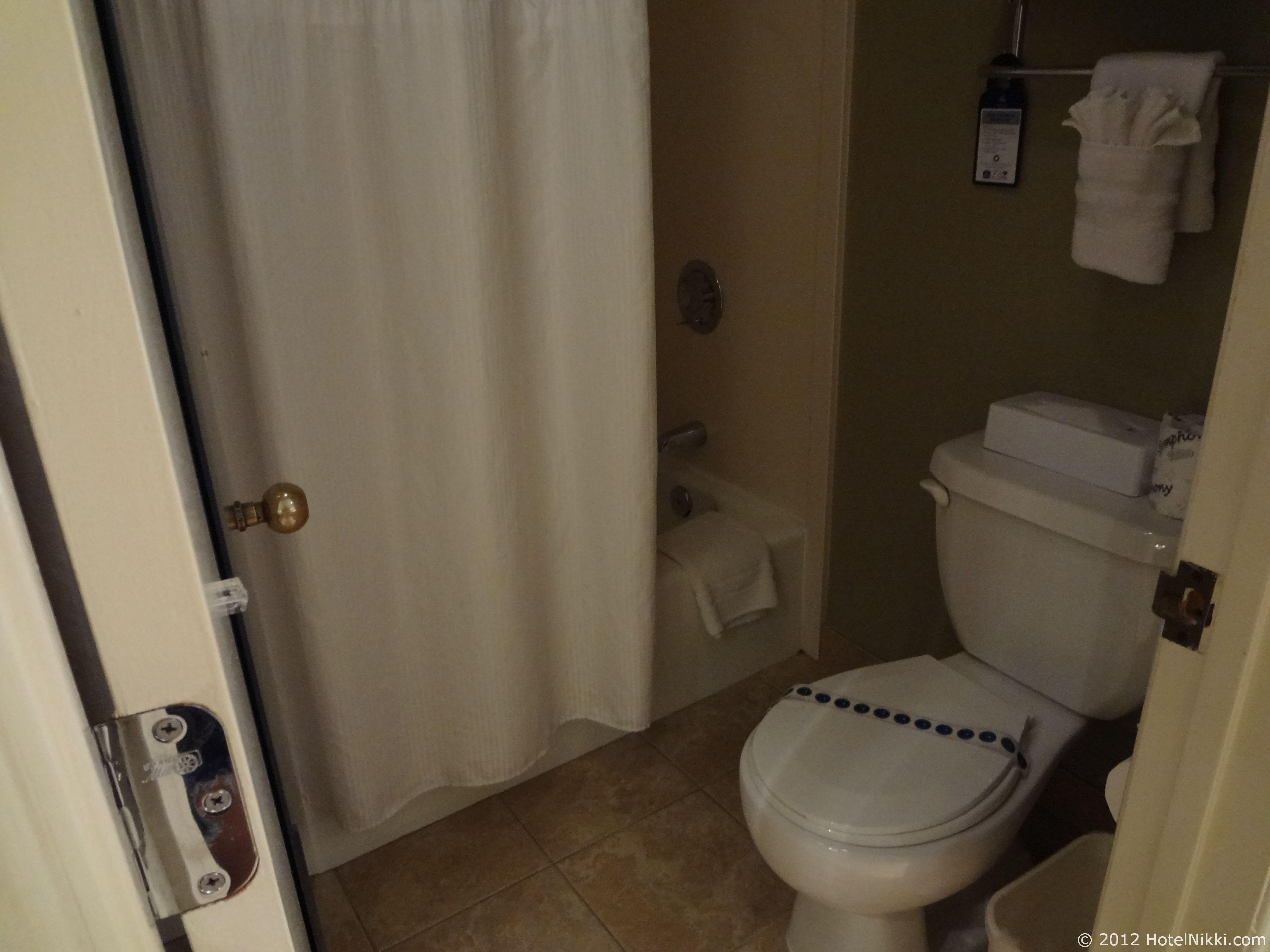 ベストウェスタンプラスラスブリサスホテル バスルーム