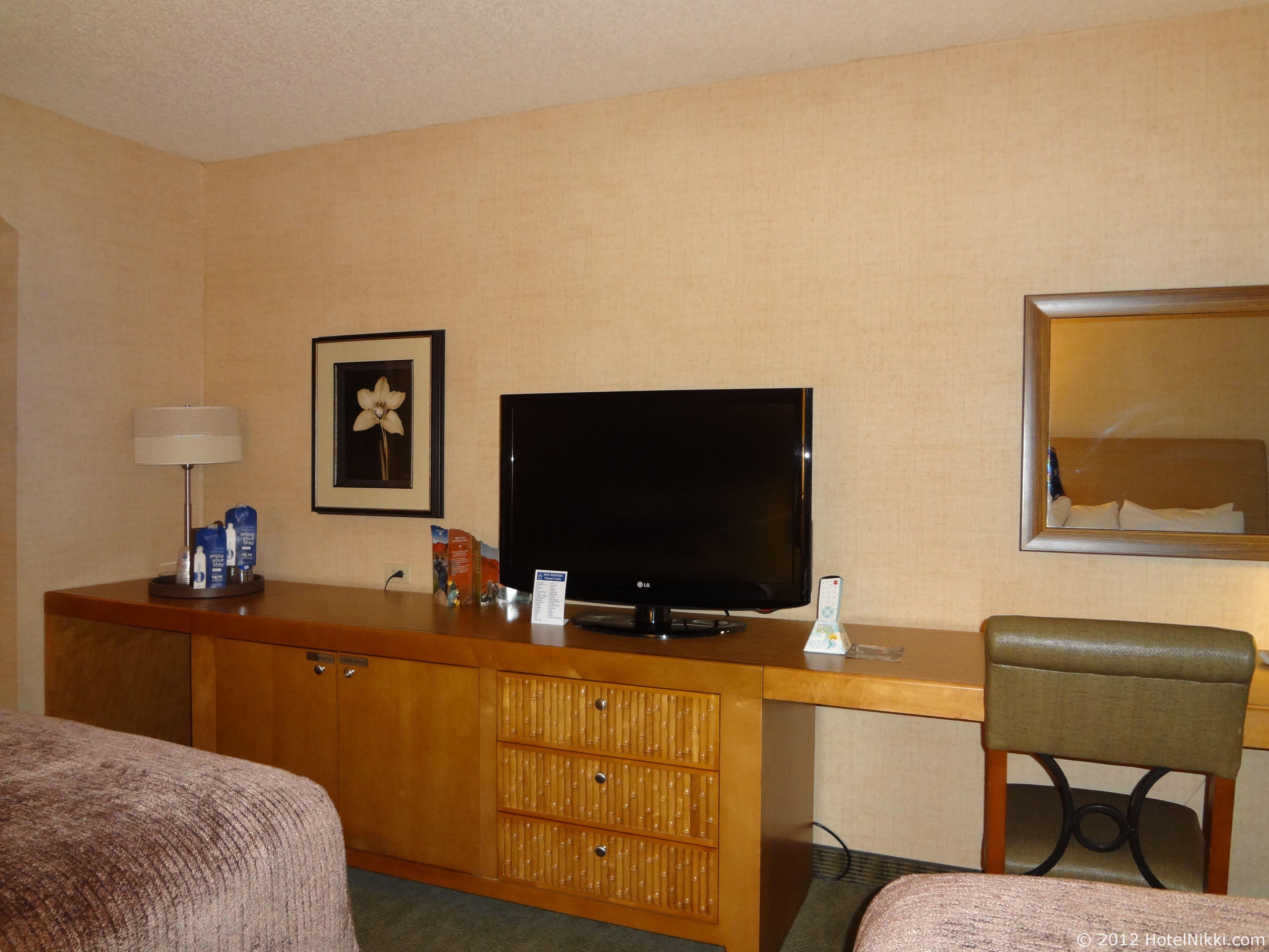 ベストウェスタンプラスラスブリサスホテル テレビ