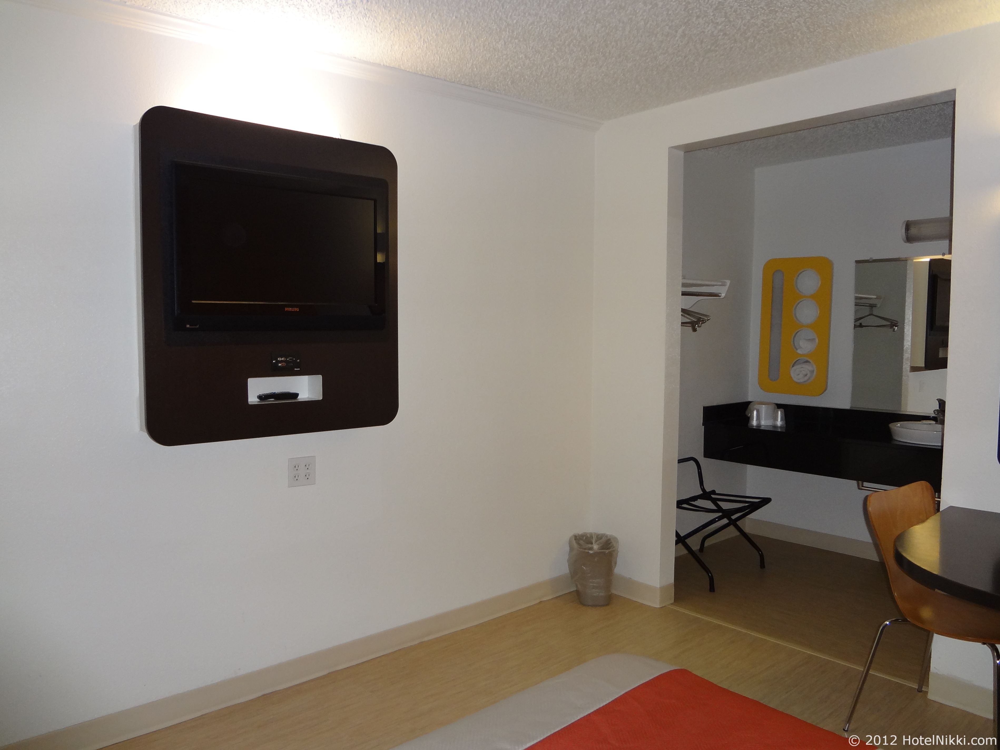 モーテル6オースティンセントラル-ノース テレビ