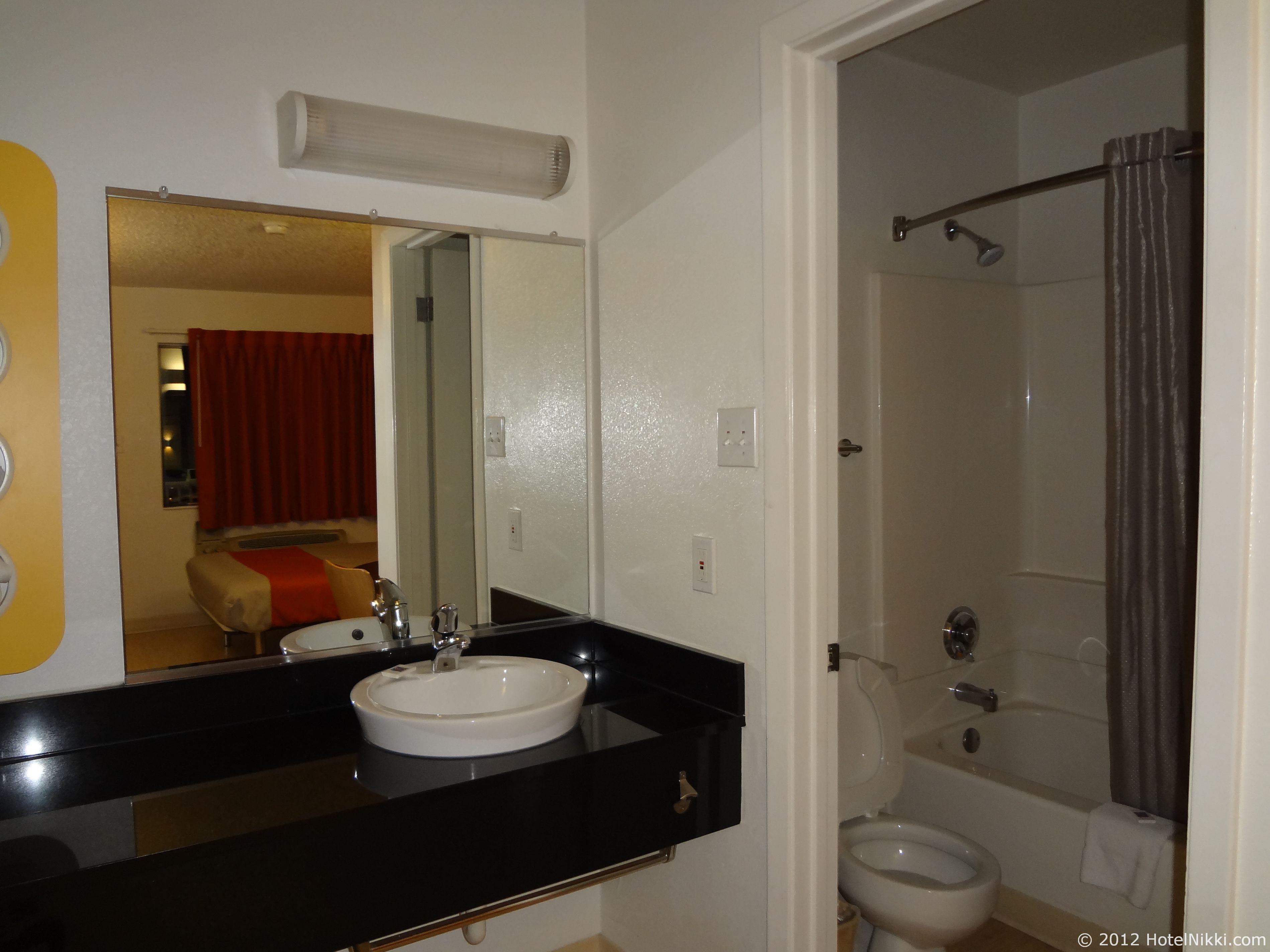 モーテル6オースティンセントラル-ノース 洗面エリア