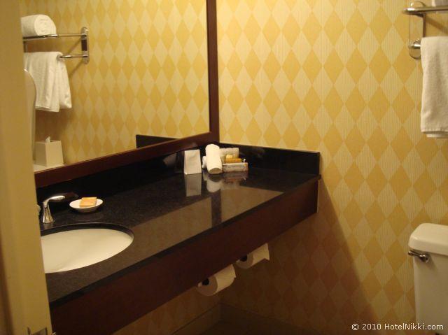 ハイアット リージェンシー オレンジ カウンティ ホテル、バスルームシンク