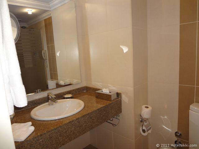 ヒルトンパークサイスタンブール、バスルーム