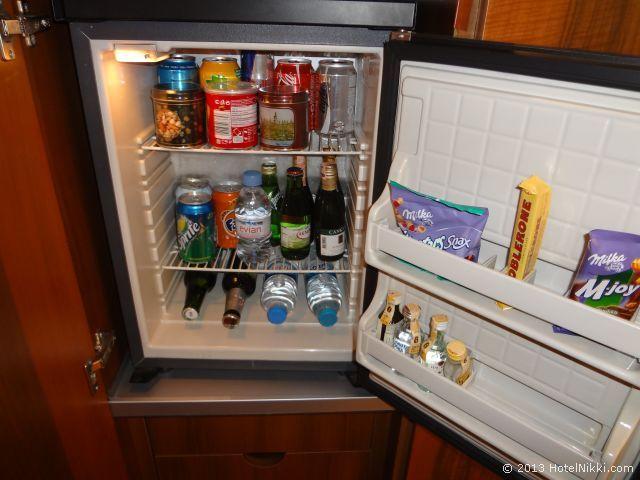 ヒルトンパークサイスタンブール、冷蔵庫内ミニバー