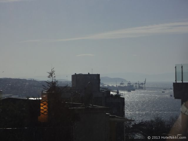 ヒルトンパークサイスタンブール、窓からの眺め・ボスフォラスビュー