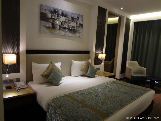 ホテルシティスターニューデリー、ダブルベッドルーム