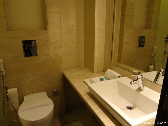 ホテルシティスターニューデリー、バスルーム