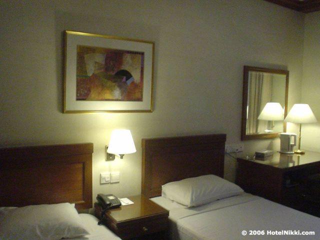 オックスフォードホテルシンガポール ツインルーム