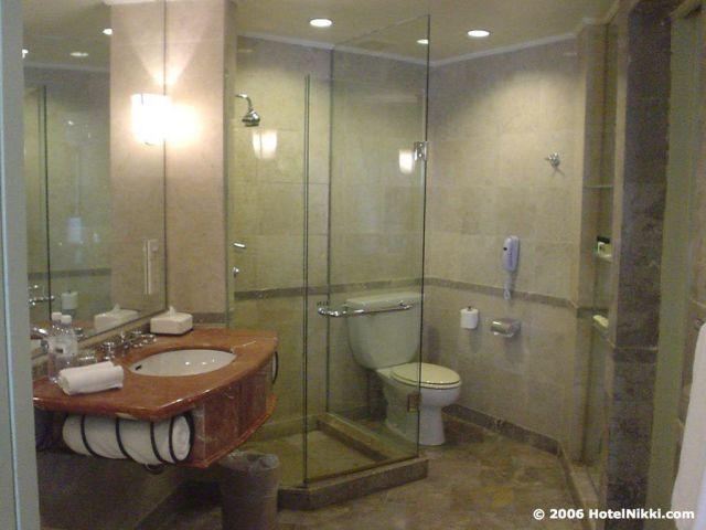 ハイアットリージェンシージョホールバル バスルーム