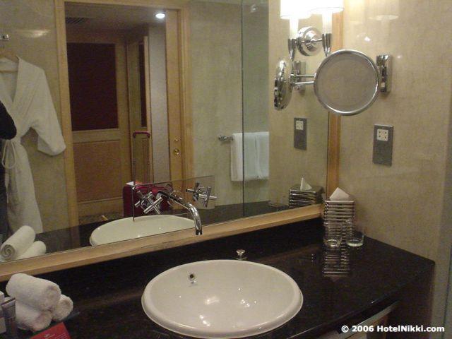 クラウンプラザホテルクアラルンプール バスルーム