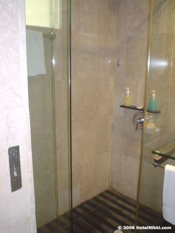 ギャラリーホテルシンガポール シャワーのみです