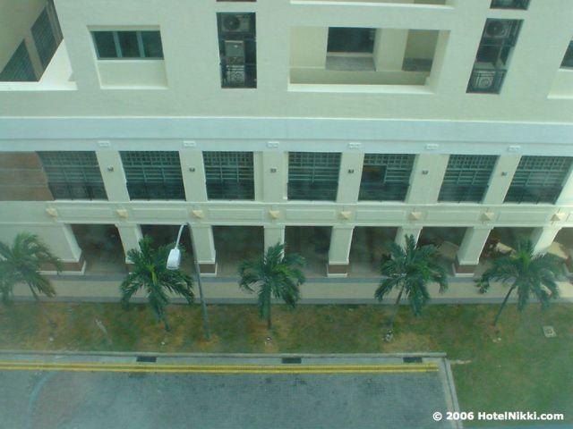 ギャラリーホテルシンガポール 窓からの景色