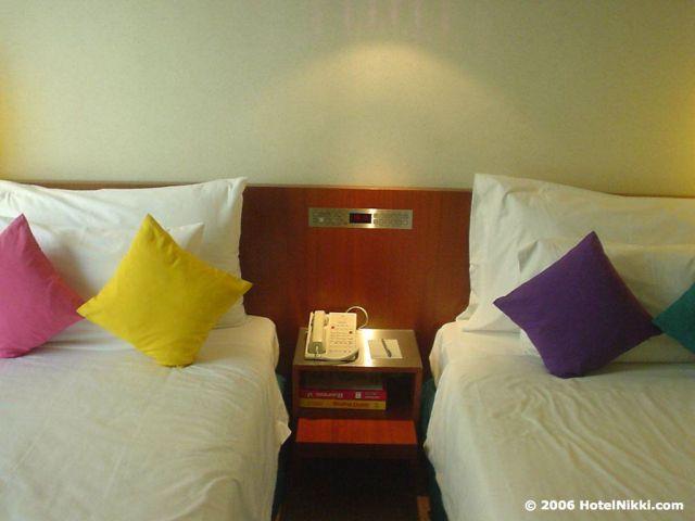 ギャラリーホテルシンガポール ベッド