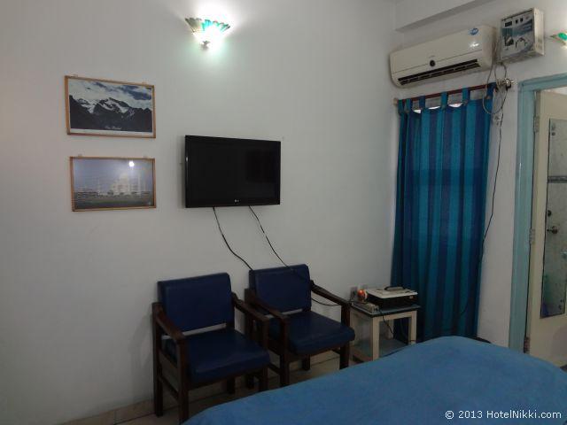 マヤホテルアグラ、客室