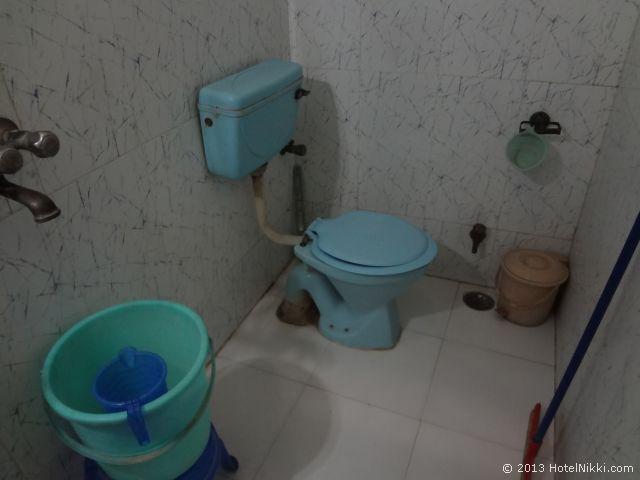 マヤホテルアグラ、バスルーム・トイレ