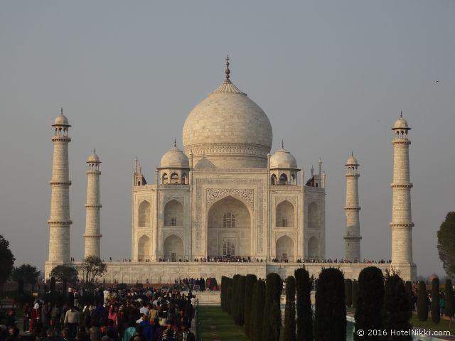 行ってみてよかった世界遺産 TOP 10 インド・アグラのタージマハル (2013年1月撮影)