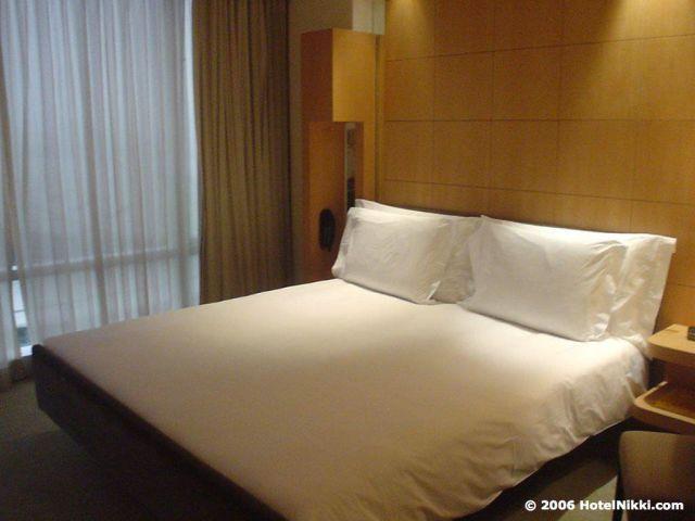 グランドハイアット香港 ベッド