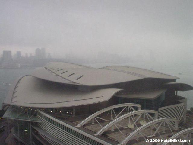 グランドハイアット香港 窓からの景色
