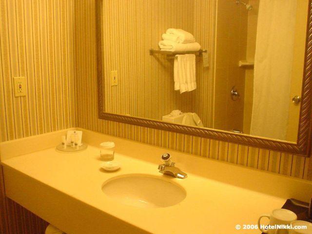 フォーポインツバイシェラトンニューアーク国際空港 バスルーム