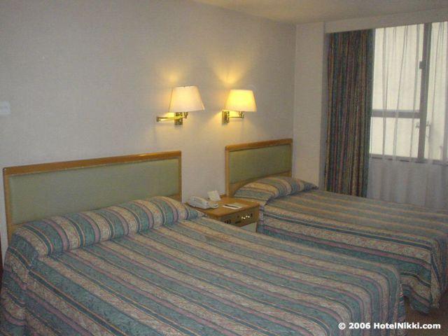ホテルニューハーバー香港、客室