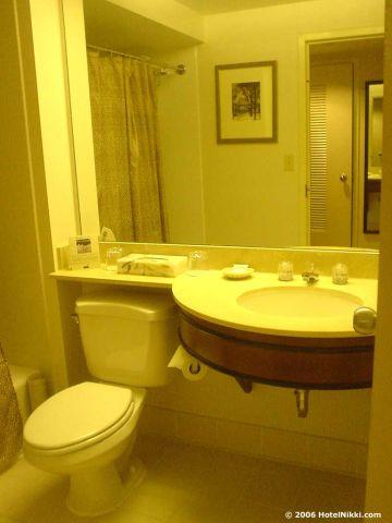 ハイアットハーバーサイドボストンローガン国際空港、バスルーム