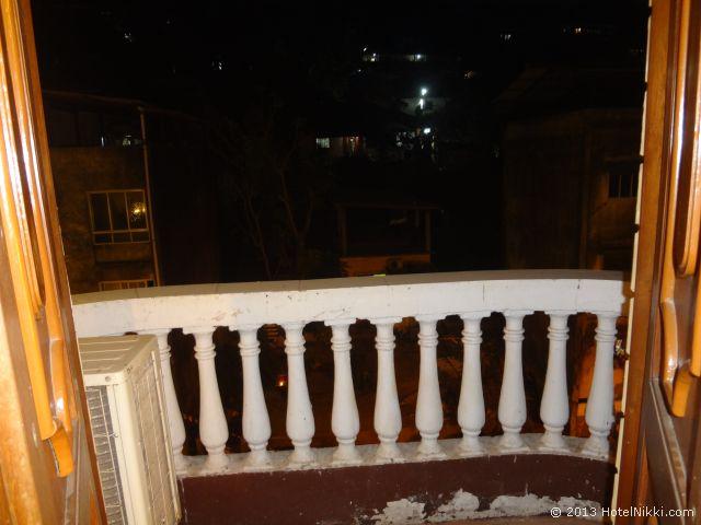 ホテル パラシオ デ ゴア、バルコニー
