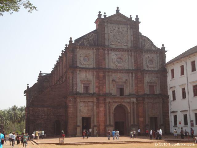 行ってみてよかった世界遺産 TOP 10 インド・オールドゴアのボムジェズ教会 (2013年1月撮影)