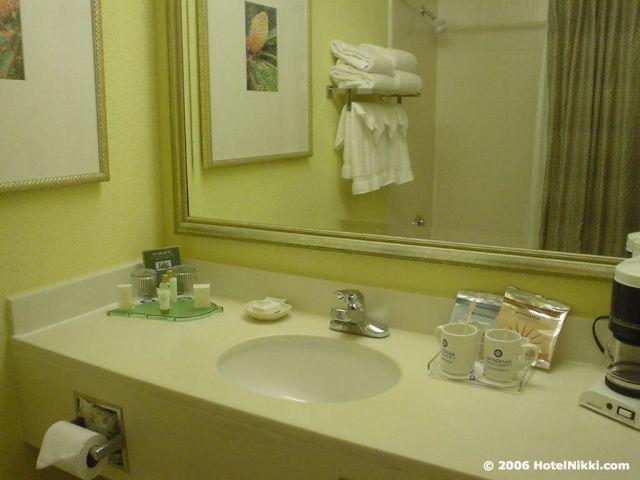 ウィンダムオーランド インターナショナルドライブ バスルーム
